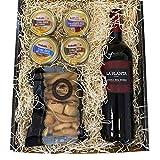 Pack Picoteo 3 - Vino La Planta, un Surtido de cremas de Queso y deliciosos Picos para acompañar