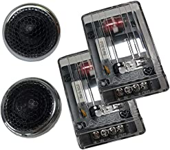 $199 » Sponsored Ad - Massive Audio CT 1X - 100 Watts RMS Multi Mounting 25mm Silk Dome Chrome Tweeters