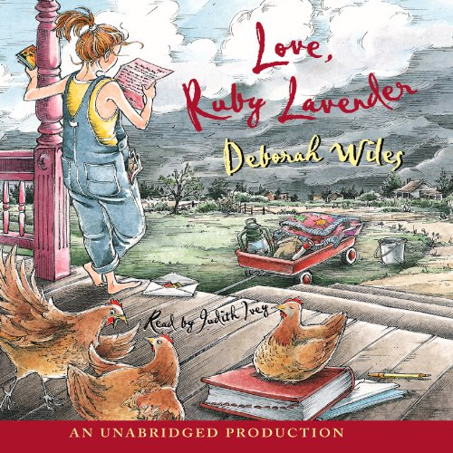 Love, Ruby Lavender audiobook cover art