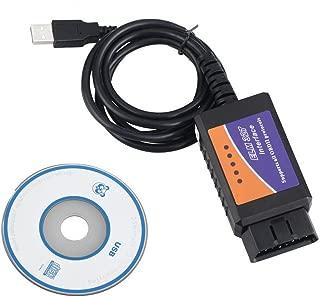 Hain@ New Version V1.5 ELM327 OBDII OBD2 USB Car Diagnostic Interface Scanner