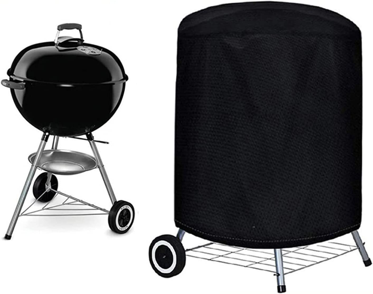 Small BBQ Cover 22 Arlington Mall Inch Duty Max 41% OFF 210D Grill Heavy Waterp