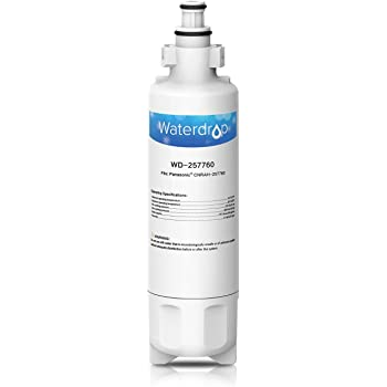 EcoAqua EFF-6032B Water filter fits for Panasonic fridge CNRAH-257760 125950