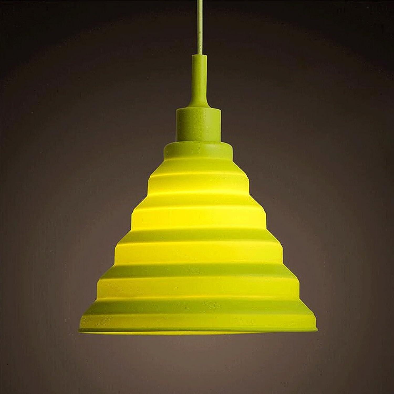 Kronleuchter ZLR Moderne Minimalistische Drei Kreative Persnlichkeit Farbe Restaurant Lichter Kinderzimmer Angelschnur Kaffee Und Tee Lampen E27 (Farbe   Grün)