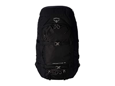 Osprey 75 L Farpoint Trek (Black) Backpack Bags