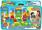 Mega Bloks Sac Blocs Construction Deluxe, 150 briques, jouet pour bébé et enfant de 1 à 5 ans, FVJ49