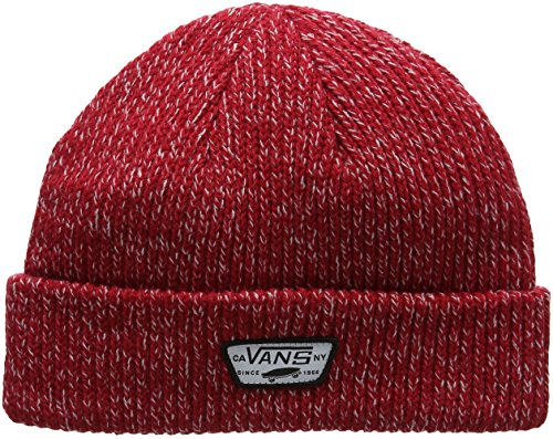 Vans_Apparel Mini Full Patch Beanie Gorro de Punto, Rojo (Chili Pepper), Talla...