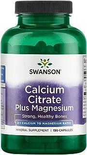 Sponsored Ad - Swanson Calcium Citrate Plus Magnesium 150 Capsules