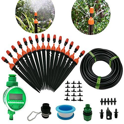 SDENOW - Tröpfchenbewässerungsbausätze in Orange, Größe Manual set