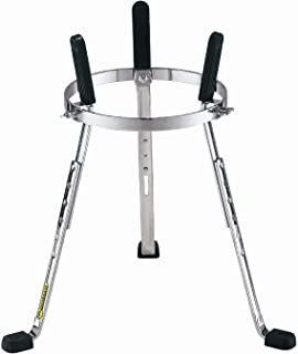 Meinl Percussion Stand with Full Height Adjustability-NOT Made in China-Arched Rubber Bracing for More Stability, Adapts to Multiple Djembe Sizes, 2-Year Warranty (ST