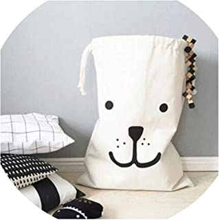 Love & Freedome New Cloth Laundry Hamper Storage Basket English Alphabet Shopping Bag Kids Toy Organizer Laundry Bag,A
