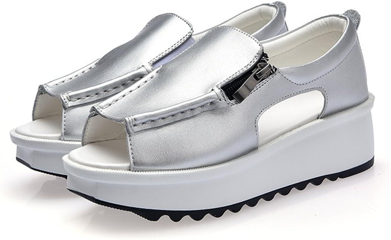 COLOV Womens Espadrilles Lace up Wedge shoes Platforms Flat Sandals