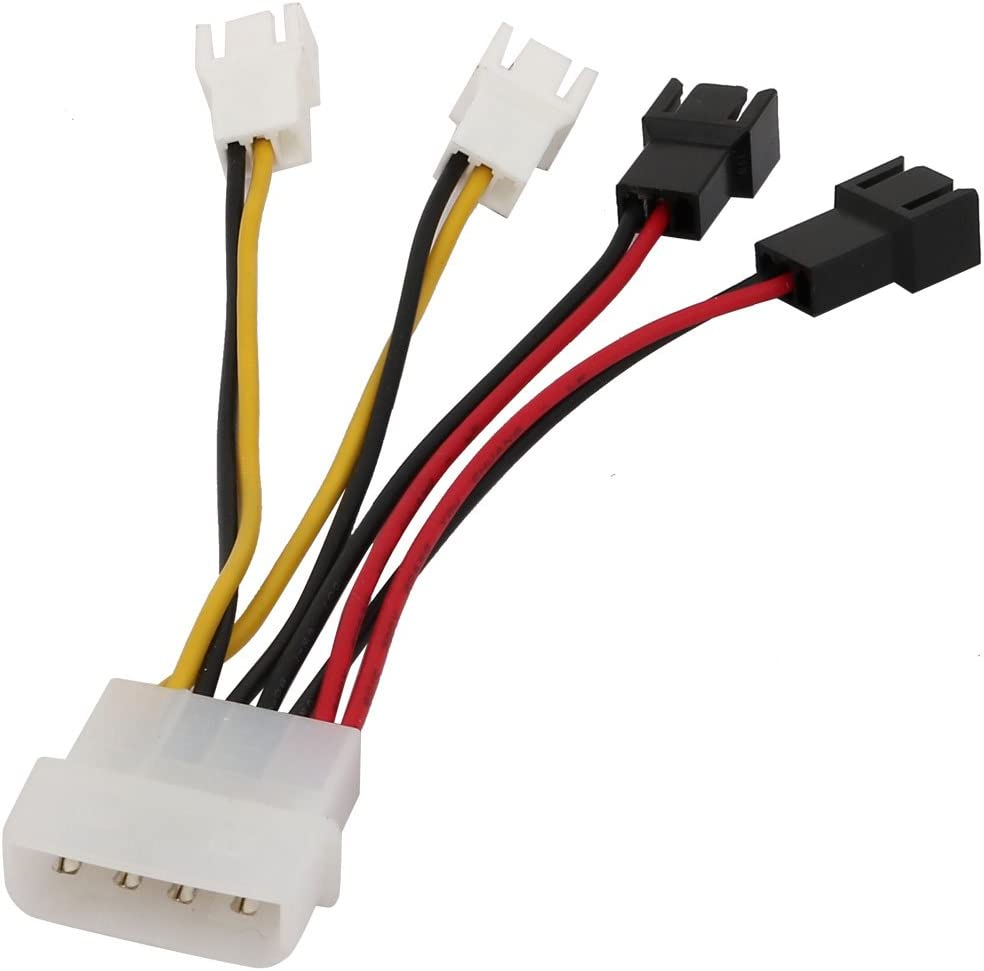 Aexit Bargain sale 2 Port Transmission 4 Year-end gift Power Terminals SATA Connec Splitter