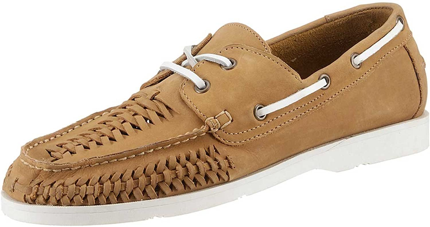 Hush Puppies Lace Up Lace-Up shoes by From Leather In Camel