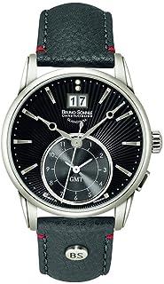 Bruno Soehnle - Bruno Söhnle 17-13154-841 Reloj de pulsera de cuero para mujer, gris