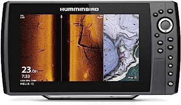 Humminbird 411420-1CHO Helix 10 Chirp MEGA SI+ GPS G4N CHO (Control Head Only) Fish Finder