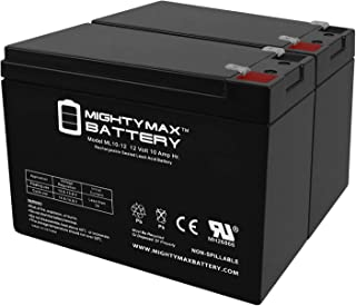 Mighty Max Battery 12V 10AH Currie eZip Trailz Electric Bike Battery - 2 Pack Brand Product