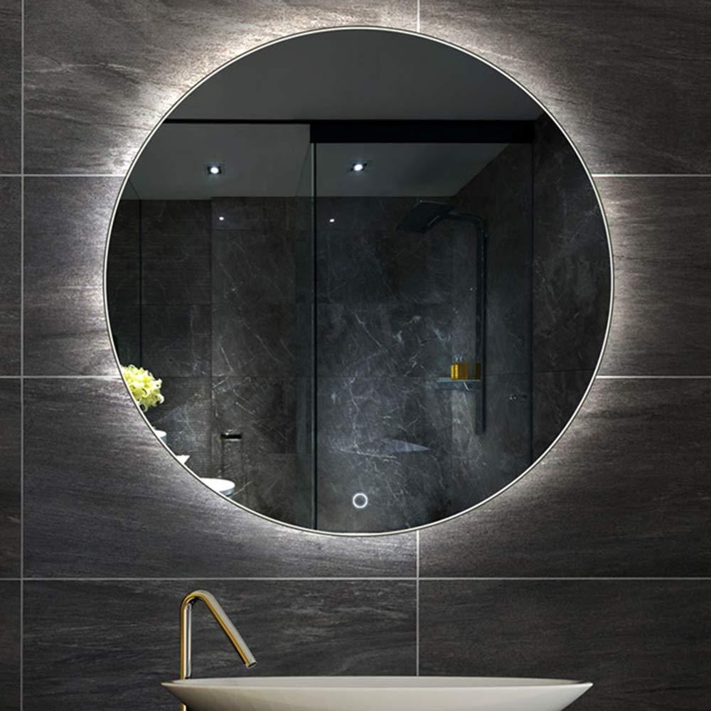 Espejo De Baño Inteligente: Luz De Pared Desempañable Y Bicolor Intercambiable, Adecuada para Inodoros De Baño De 60 Cm, 70 Cm,A,70CM: Amazon.es: Hogar
