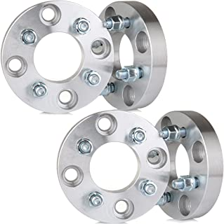 SCITOO Wheel Spacers 4x114.3mm to 4x100 Wheel Adapter 4X 1 inch 4x4.5 Cars use 4x100 Wheel Bolt On 12x1.5 Studs 67.1mm CB Adapters complatible with Nissan Altima Accent Tiburon Sonata