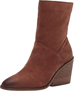 Lucky Brand Women's Sarey Ankle Boot, Toffee, 7