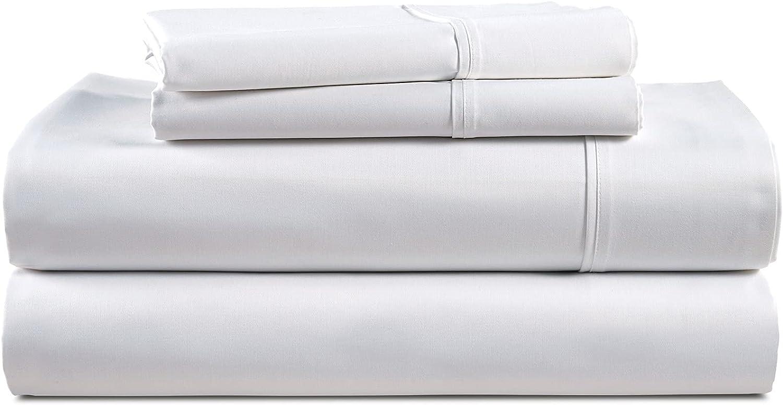 discount avonleigh gift LINENS 1000 Thread Count White 100% King Cotton Sheet