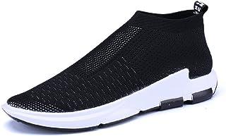 7924fe405063d Homme Chaussure de Sport Outdoor sans Lacet Sneaker de Basket Mode Chaussure  de Course Running Casuel