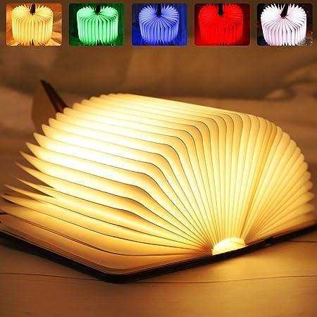 LEDFaltbare Buchlampe USB Buchlicht Nachtlicht Tischlampe Dekorative Leuchte HOT