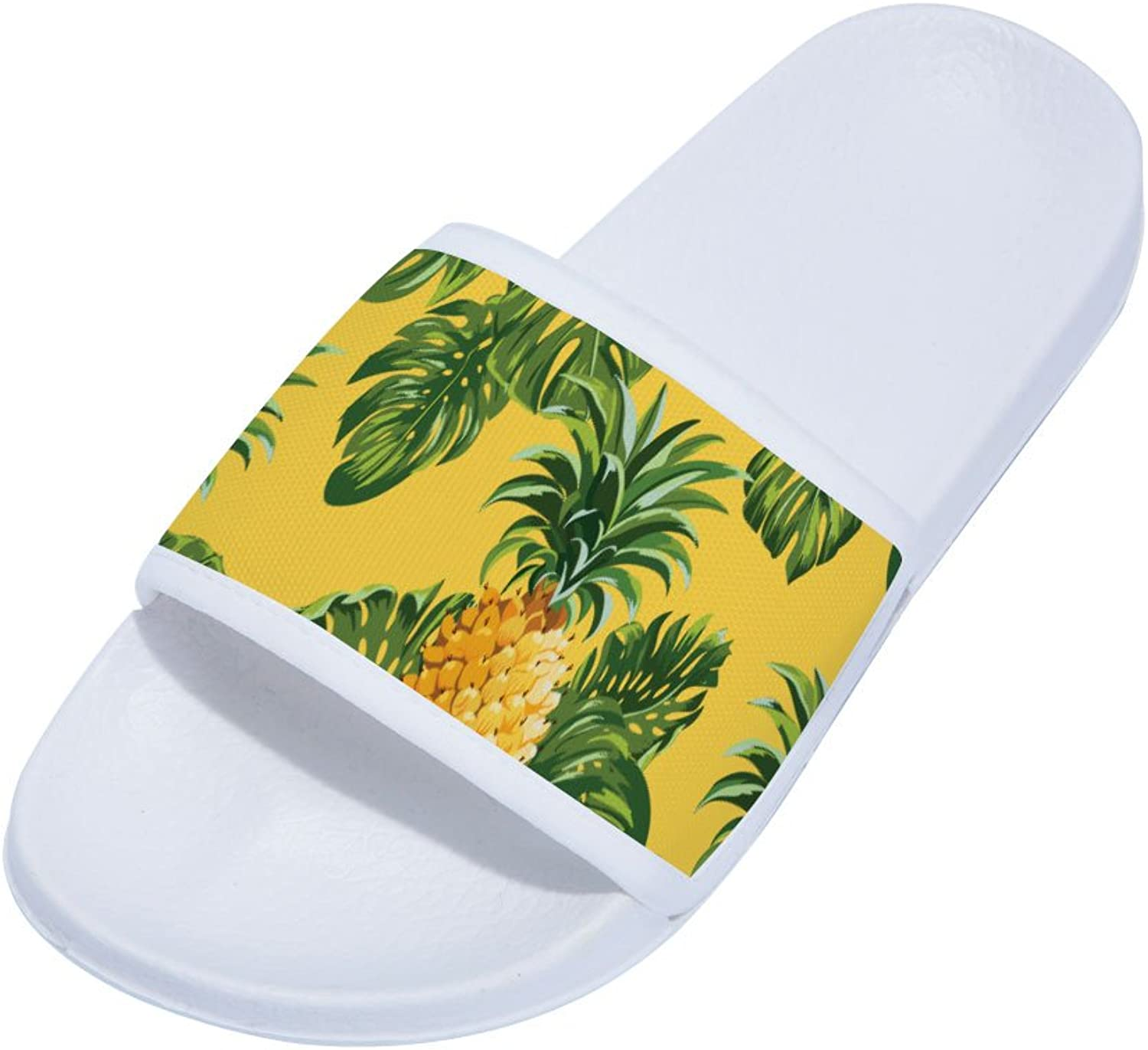 Buteri Pineapple(White) Family Quick-Drying Non-Slip Slippers