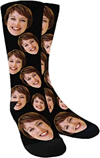 Sponsored Ad - Custom Socks with Face Dog Socks, Your Photo on Personalized Socks with Picture for Men Women