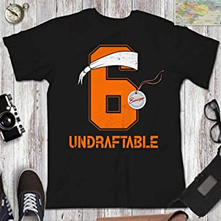 Baker Undraftable Football Shirts Funny Mayfield Jersey BM Customized Handmade Hoodie/Sweater/Long Sleeve/Tank Top/Premium T-shirt