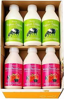 【北海道牧家Bocca 飲むヨーグルト&ラッシーセット500ml×6本】FOODEX JAPAN2014にて『ご当地ヨーグルトグランプリ』で最高金賞を受賞。北海道伊達市の酪農家さんで生産された生乳の旨味を、飲むヨーグルト&ラッシーにつめ込みました。