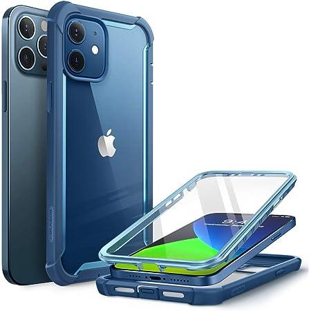 I Blason Iphone 12 Iphone 12 Pro Hülle 6 1 Bumper Case 360 Grad Handyhülle Transparent Schutzhülle Cover Ares Mit Displayschutz 2020 Blau Elektronik