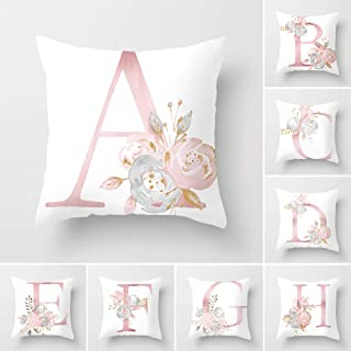 real floral letters