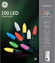 GE Color Effects 100 LED Count 33-ft Multi-Function Holiday String Lights