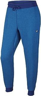 Nike Men's AW77 Shoebox Cuffed Sweatpants (727397-455) - DEEP Royal Blue/Light Photo Blue/Heather