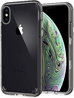 Spigen Neo Hybrid Crystal Designed for Apple iPhone Xs Case (2018) - Gunmetal