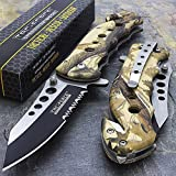 """Best Get Tac Force Tac Force Folding Knives - 7.75"""" Tac Force Camo Spring Assisted Tactical Folding Review"""