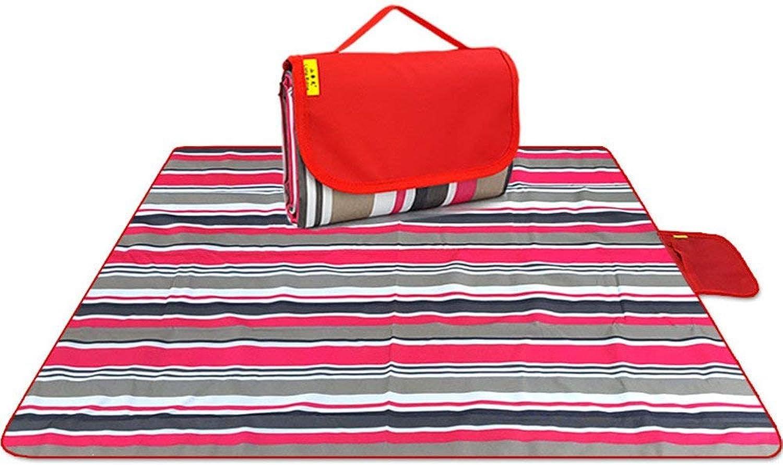 Beach Mat, The Moisture pad Picnic Outdoor Thick Turf Waterproof Beach mat picnics Portable Finer