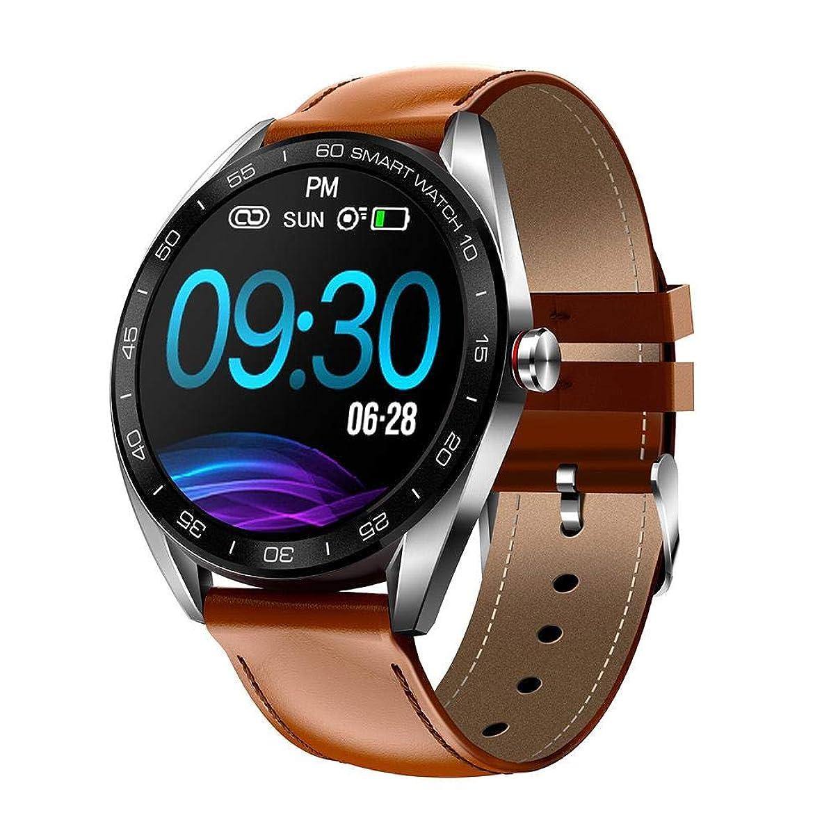 欠点連帯抑止するスマートウォッチ IP68防水 スマートブレスレット 活動量計 心拍計 歩数計 睡眠検測 消費カロリー 長い待機時間 IOS/Android対応