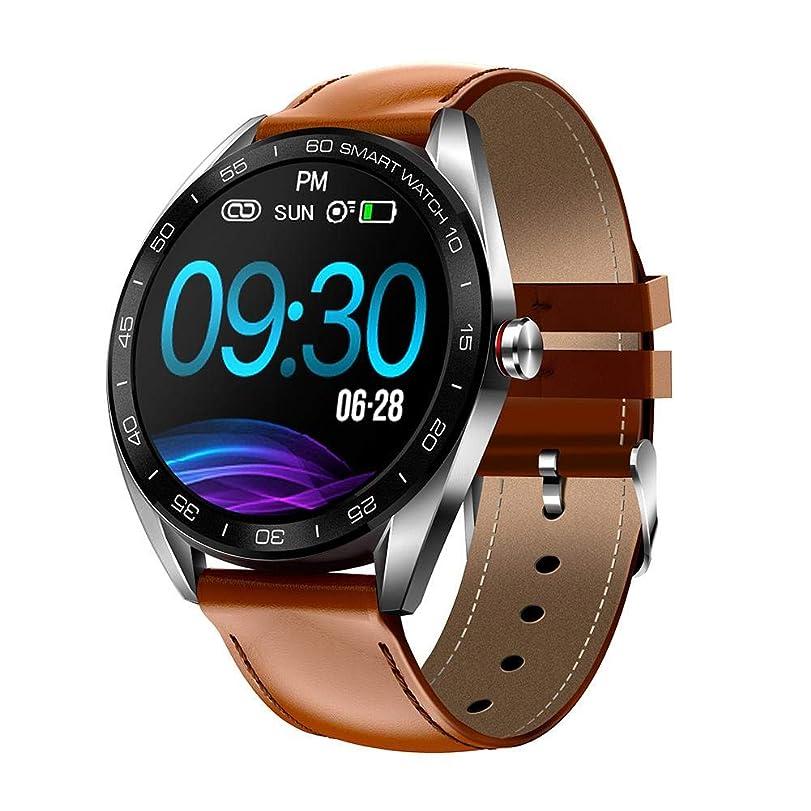 作り勧めるのぞき見スマートウォッチ IP68防水 スマートブレスレット 活動量計 心拍計 歩数計 睡眠検測 消費カロリー 長い待機時間 IOS/Android対応