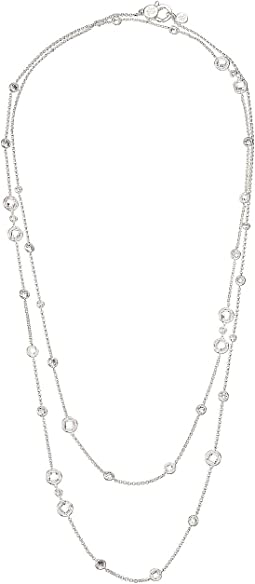 Cubic Zirconia Strand Necklace