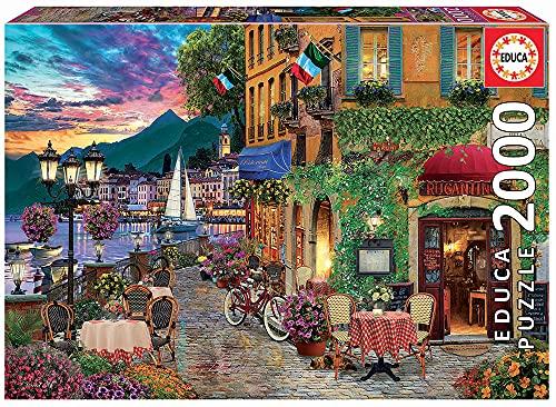 Educa - Italian Fascino Puzzle, 2000 Piezas, Multicolor (18009)