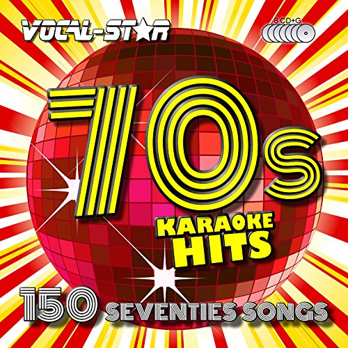 Vocal-Star 70's Karaoke CD CDG Disc Pack 8 Discs CDs 150 Songs