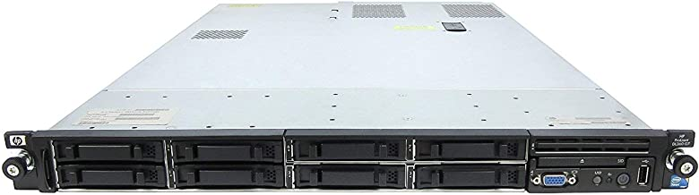 HP ProLiant DL360 G7 1U RackMount 64-bit Server with 2xSix-Core X5650 Xeon 2.66GHz CPUs + 32GB PC3-10600R RAM + 8x146GB 10K SAS SFF HDD, P410i RAID, 4xGigaBit NIC, 2xPower Supplies, NO OS (Renewed)