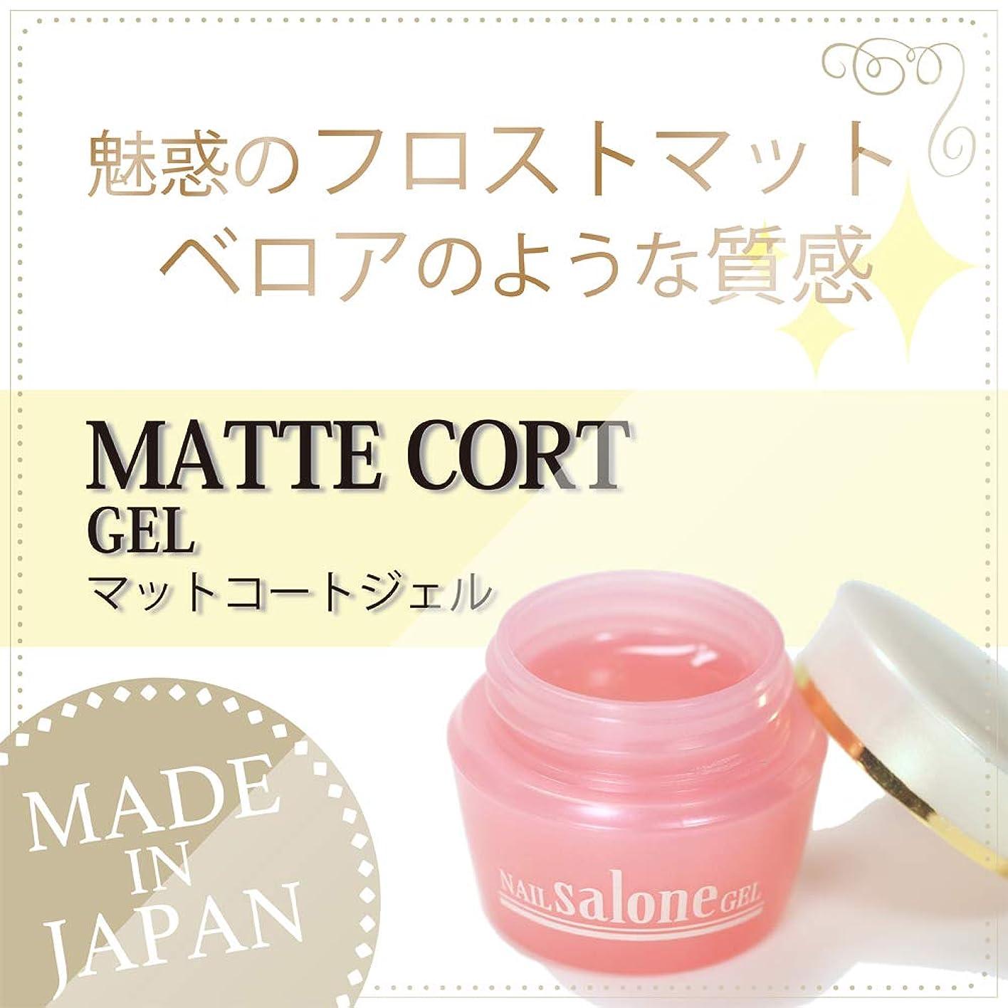 Salone マットコートジェル 3g