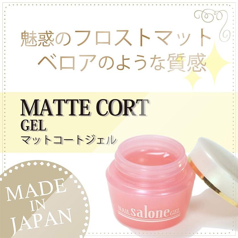 鉛憤る化学薬品Salone マットコートジェル 3g