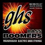 GHS Strings 4ML-B-DYB, 4-String Bass Boomer Set for Bead Tuning-Medium Light (060-125)