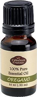 Oregano 100% Pure, Undiluted Essential Oil Therapeutic Grade - 10 ml. Great for Aromatherapy!