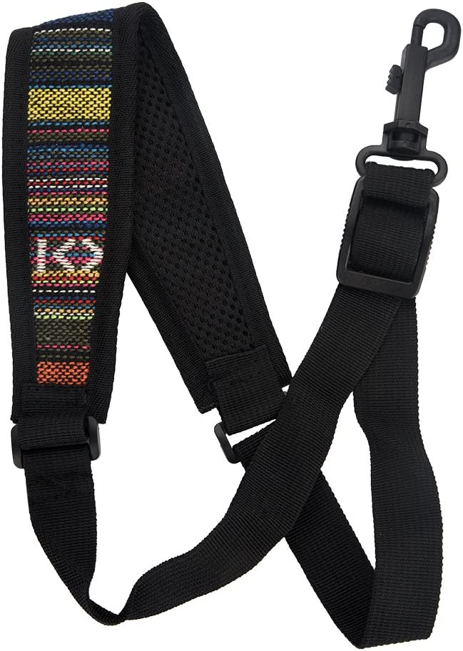 Universal Saxophone Neck Strap Portable Mail order Sax Adjustable Cotton C Direct sale of manufacturer