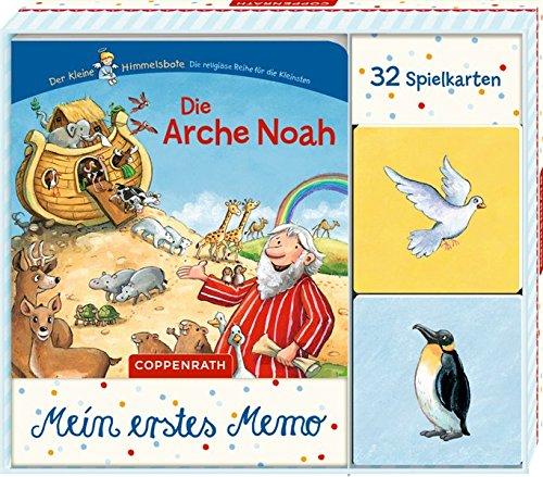 Die Arche Noah: Buch mit Tier-Memo in Geschenkverpackung