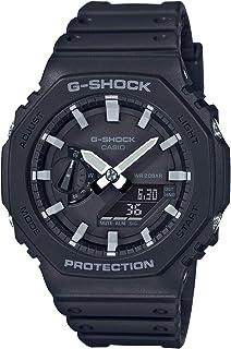 Casio Analog-Digital Men's Black Dial Watch - GA-2100-1ADR (G986)